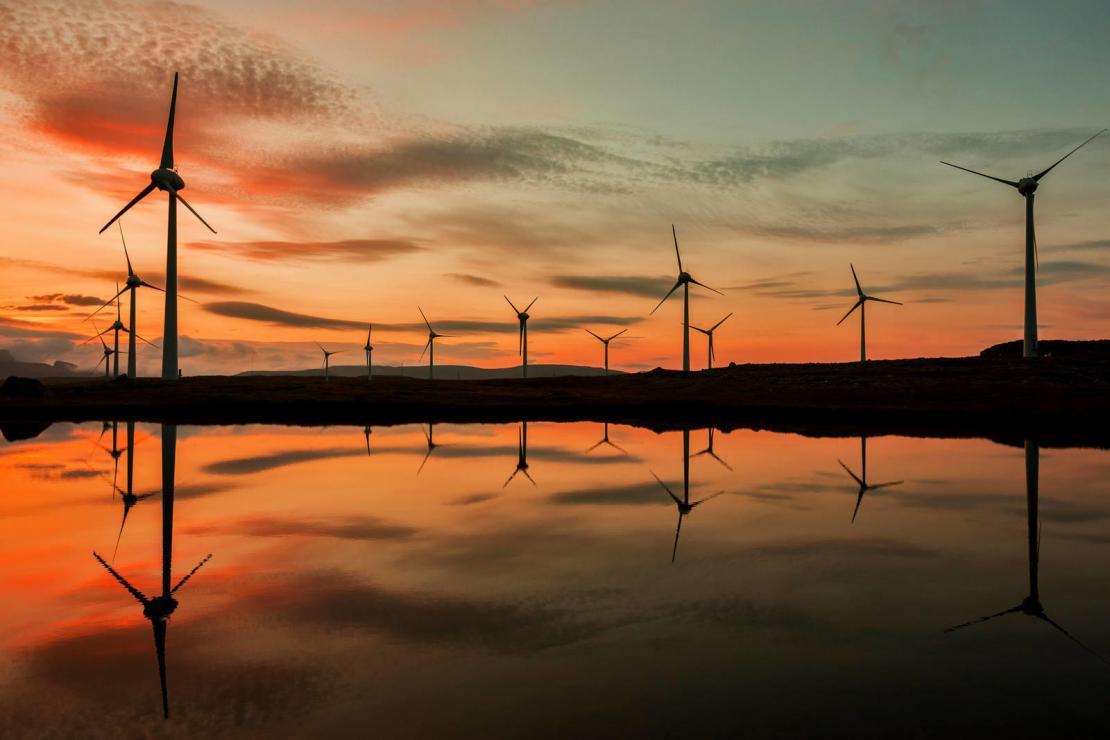 Windfarm energy UK