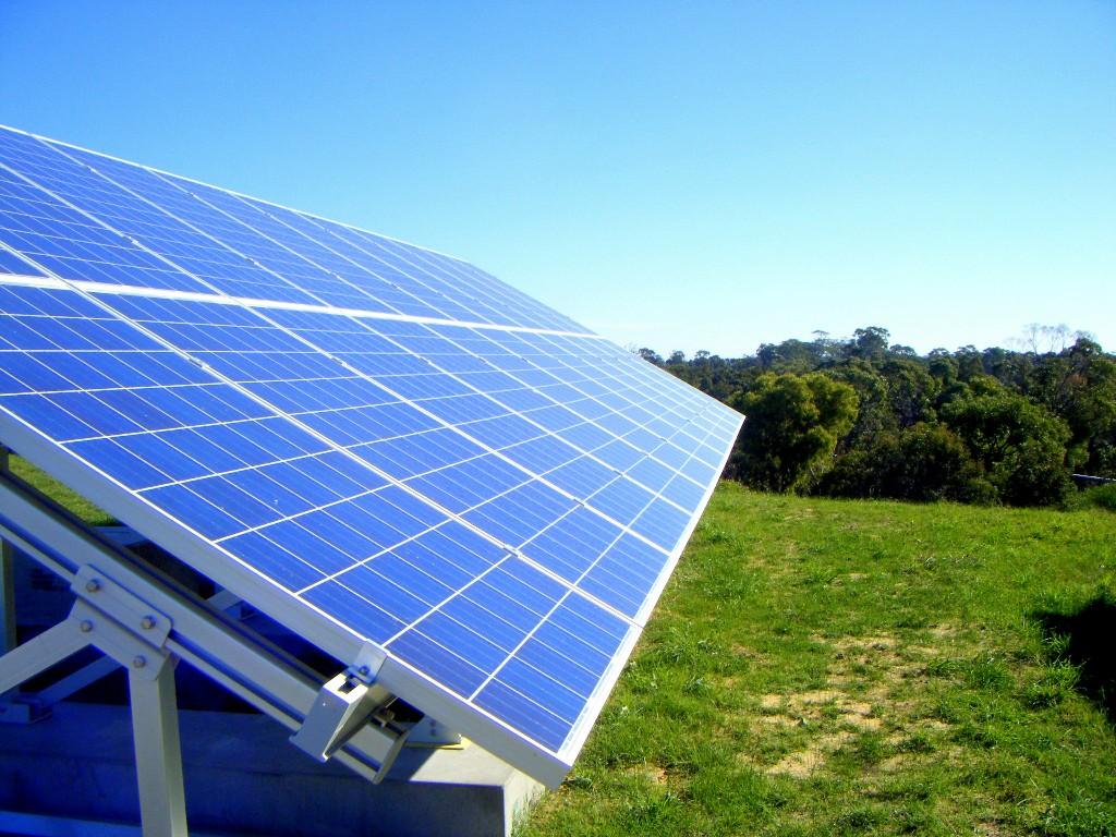 Solar energy green business